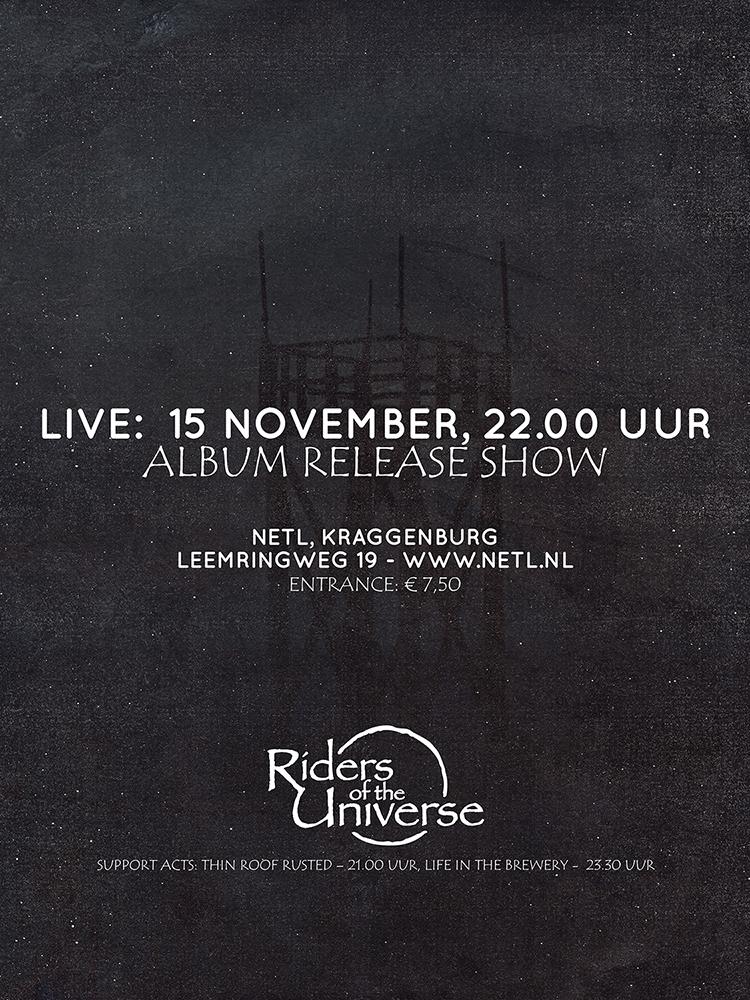 Album release show confirmed